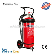 Big capacity fire fighting equipment with trolley