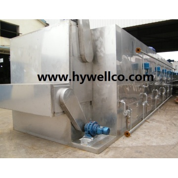 Reka bentuk Baru Peanut Kernel Belt Type Dryer