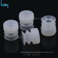 Ventosas de fuelle de vacío de caucho de silicona para vidrio