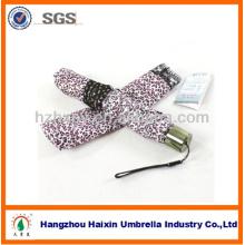 Leopard Printing Lace Fashion Lady Umbrellas For Rain