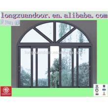 Janelas deslizantes de arco duplo, portas duplas e janelas comerciais, janelas duplas interiores decorativos