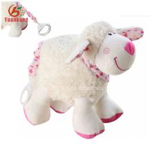 12cm Wholesale Lovely Mini Plush Sheep Doll for Girl