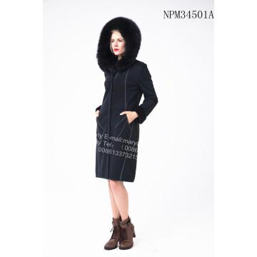 Bright Thread Decoration Australia Merino Shearling Coat