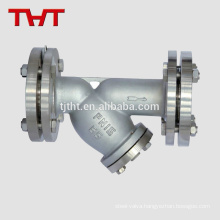 stainless steel Y type folding strainer