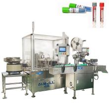 200kg Dual Nozzles Filling Line Equipment Machine Manufacturer for Sale Metal Division Key Medical