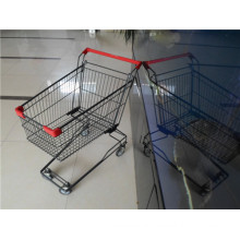 Asian Style Shopping Cart with Baby Seat and Coin Lock System
