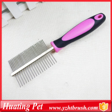 China for Pet Lice Comb pet metal comb for doggy export to United States Minor Outlying Islands Supplier