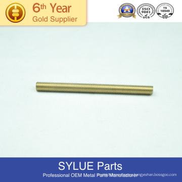 No micro mecanizado Micro mecanizado o no y capacidades de material de latón Partes de partida en frío
