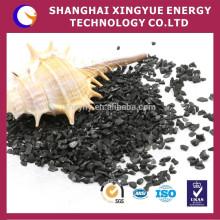Carvão ativado granulado a base de carvão usado para tratamento de água na indústria