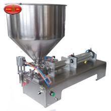 Máquina de llenado de líquidos semiautomática de 50-5000 ml uno / dos cabezales