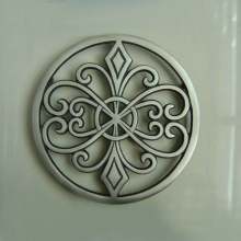 Round Enameled Cast Iron Trivet