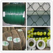 1,5 / 2,5mm PVC-Draht für Kettengliedzaun