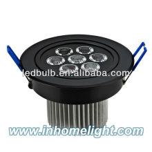 Lâmpada de teto de alta qualidade da liga de alumínio 7W