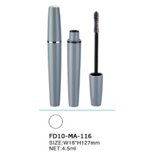 Runde Design Mascara Tube mit Silberring