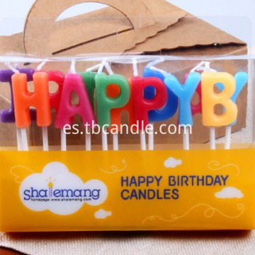 happy birthday stick candle
