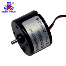 No Noise Level Pancake Brushless DC Motor Dia35mm