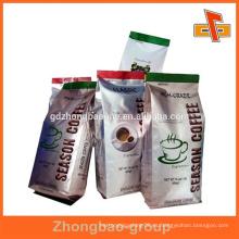 Laminación sellado al calor paquete de aluminio para alimentos / líquidos / snack con forma personalizada