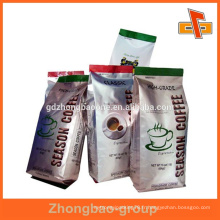 Emballage en feuille laminé à chaud pour aliments / liquide / snack avec une forme personnalisée