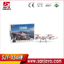 syma 2016 newest arrival barometer height syma drone X54HW with wifi 720p HD camera