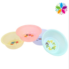 Colorful Fashion Round Plastic Washing Basin (SLP026)