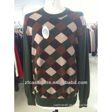 suéter de cachemira hombre