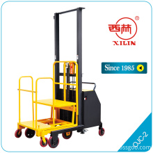China for Offer Standard Pallet Truck,Pallet Truck With Brake,Pallet Lift Truck From China Manufacturer Xilin OJC-02/20 semi- electric low level order picker supply to Kenya Suppliers