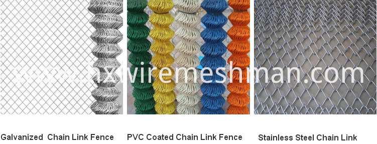 chain link metal fence