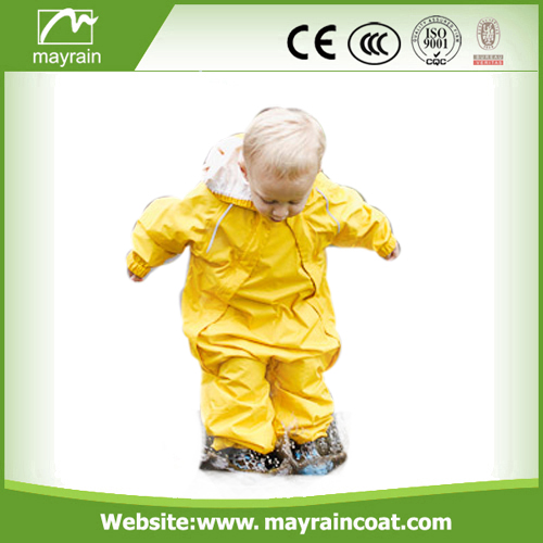 Waterproof Polyester Kids Rainsuits