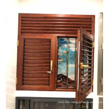 China Sunscreen Roller Blinds Wood blinds plantation shutters casement window