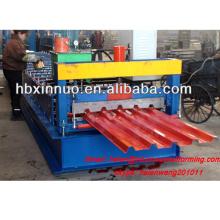 Iso-hydraulische Metall neue Art Presse Eisenblech Stahldachplatte 686 Kaltwalzformmaschine zum Verkauf