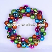 navidad, bola, guirnaldas, fieltro, navidad, decoración, único, regalo, ideas