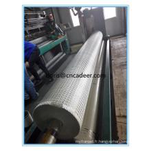 Warp tricoté en fibre de verre géogrille meilleur prix