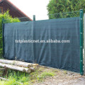 dark green fence privacy mesh screen with grommets or lock hole