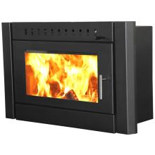 big glass insert built wood long burning fireplace BI2500