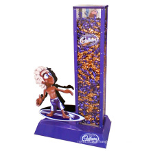 M&M Rainbow Candy Floor Pop Cardboard Display Stands