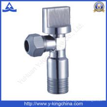Válvula de ângulo de latão de cromagem para o banheiro (YD-5018)