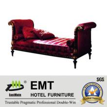 New Design Bed Step Stool Meuble de chambre d'hôtel (EMT-BS09)