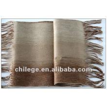 cachecol de cachemira e lã