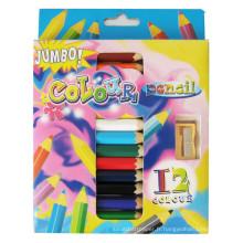 art kids coloful Ensemble de crayons de couleur Jumbo