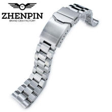 22mm 316L stainless steel solid watch band
