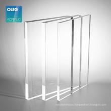 OLEG unbreakable glossy extruded pmma plaxiglass acrylic sheet