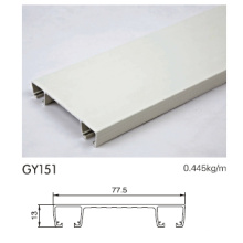Perfil de alumínio para porta deslizante