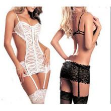 2015 Sexy Mature Women Hot Night Wear Sexy Lingerie (MU7805)