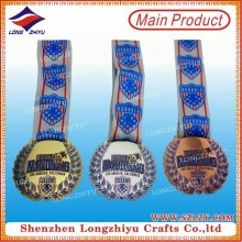 Factory Price Promotional Gold Plating Medal with Your Own Design