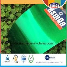 Neue Hochglanz-Süßigkeit-Grün-transparente Puder-Beschichtung