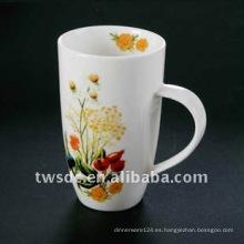 Porcelana durable, taza de la porcelana, taza de cerámica, taza de la porcelana de modificado para requisitos particulares (069)
