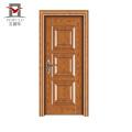 Новый стиль, гарантированное качество, принятый Oem Steel Wood Front Front Door