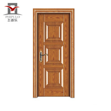 Factory Making High End Accepted Oem Steel Wood Modern Entry Door