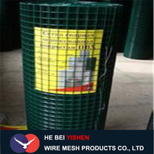 PVC/PE welded wire mesh roll