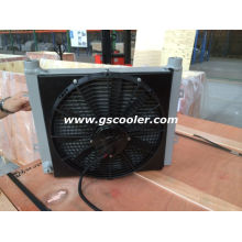 Hydraulic Oil Cooler with Fan and Shroud